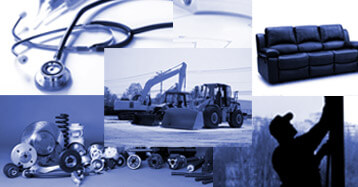 Collage of Industries Served | Medical, Construction, Automotive, Furniture, Manufacturing